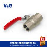 CER und Acs Stahlgriff-Messingkugelventil (VG-A11011)