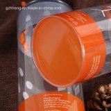 محبوب واضحة أسطوانة أنابيب مع طباعة (صندوق بلاستيكيّة مستديرة)