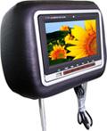 カーヘッドレスト LCD DVD プレーヤー( HDD-700 )