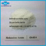 De anabole Steroid Acetaat Primobolan van Methenolone van de Massa van de Spier van het Poeder
