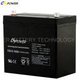 Bateria UPS 12V55ah recarregável para backup de energia solar