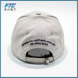 Casquette de baseball de coutume de fermeture de boucle en métal de chapeaux de panneau du coton 6