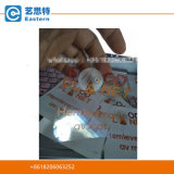Пластичная прозрачная таможня PVC обозначает ясные стикеры