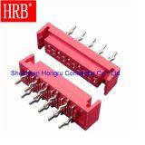 IDC 1.27 Conector electrónico del encabezado del pin vertical