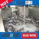 ボートまたは容器の使用のための海水のスラリーの製氷機械