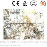 De pp Geweven Lijn van het Recycling van het Afval van Zakken Plastic (1000kg/Hr)