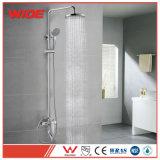 Jeu de douche de salle de bains de Jiangmen, taraud de mélangeur de robinet de douche de Jiangmen