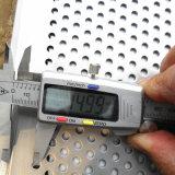 Strati perforati decorativi dell'acciaio inossidabile di foro del metallo rotondo del reticolo
