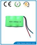 2/3AAA 800mAh 8.4V NIMHの充電電池のパック