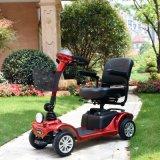 障害者のための軽い折りたたみ4の車輪の電気スクーター