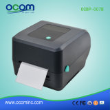 "4"" negro Impresora de etiquetas de códigos de barras térmica"