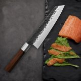 Chef-Messer-Edelstahl-Küche-Messer japanische Santoku Messer-scharfer Spalter, der das Steak-Messer kocht Hilfsmittel schneidet