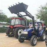 La Nouvelle-Zélande Hot Sale DQ554 55HP tracteur agricole 4RM avec TZ04D Chargeur Frontal