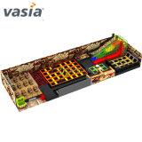 prix d'usine Vasia Indoor salle de gym pour les enfants du trampoline avec filet