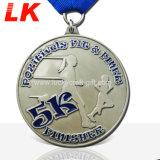 工場製造業者は金属にカスタムスポーツの実行の黄銅メダルをする