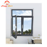 Nuevo diseño de aluminio manufactura Casement Windows