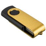 다중 색깔 금속 회전대 키 모양 USB 플래시 디스크 8GB