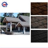 軽量の建築材料の石の上塗を施してある金属のミラノの屋根瓦