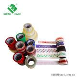 Drukte het douane Gekleurde Embleem van het Embleem Duidelijke Acryl Zelfklevende Verpakkende Band OPP af