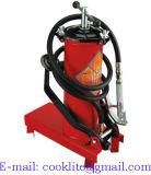 Pompa manuale a ruote del pedale del lubrificatore del grasso - 12L