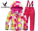 Les enfants Veste d'hiver Ski de montagne imprimé vêtement pour enfants