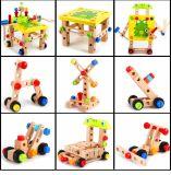 Винт деревянная игрушка DIY