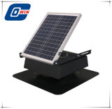 25W 9in hing angeschaltener Solarabsaugventilator für Dachboden, Decke und Dach ein