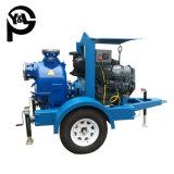 Motor diesel de 6 pulgadas Self-Priming bomba centrífuga de las aguas residuales