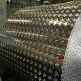 Bobina Checkered di alluminio dello strato dell'impronta della barra della bussola cinque con rivestimento dello specchio del laminatoio