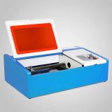 ゴム印の作成のための40Wレーザー機械