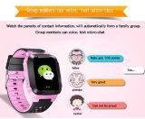 Relógios inteligente de GPS para crianças Smartwatch impermeável chamada de discagem rápida no telefone de Relógio Android Pulso Relógio inteligente Y113