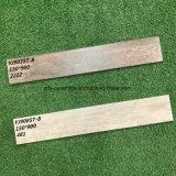 木製のフロアーリングの建築材料新しいデザイン自然な陶磁器の床タイル