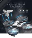 2.4G azul una clave Volver juguetes Airplance Aviones RC Helicóptero Quadcopter