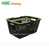 Plastiklebensmittelgeschäft-Markt-Einkaufskorb-Set