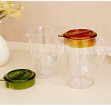 113*185mm transparente jarra plástica de impressão colorida mistura definida