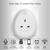 Smart Wireless toma con carga USB estándar en el REINO UNIDO