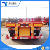 3 ejes esqueleto 40 toneladas de transporte de contenedores semi remolque para 20/40/45 pies de contenedores