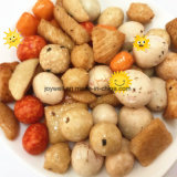 High Nutritionの円形のPeanuts Beans Rice Crackers Mixed Rich