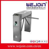 Lettore di impronta digitale Integrated del cancello girevole del treppiedi dell'acciaio inossidabile