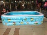 Grand jardin de pliage Indoor Adulte enfants Piscine gonflable en PVC en plastique