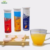 100 % d'aliments de santé naturels de la vitamine C Effervescent Comprimé diverses vitamines + fer comprimés effervescents