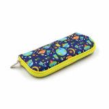 Caixa de lápis para crianças de forma colorida Pen bag bolsa em neoprene