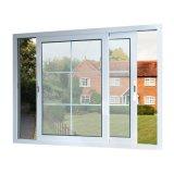 Rupture thermique norme australienne de double vitrage en alliage aluminium fenêtre coulissante en verre Grill Design
