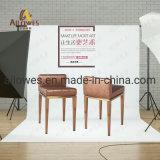 Mobiliário de metal de Lazer Simples de Aço Inoxidável Banqueta cadeira para joalharia e assista recordações