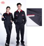 Uniforme poco costosa personalizzata del Workwear del lavoro del rivestimento di sicurezza lunga europea classica industriale del manicotto