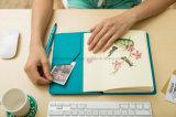 De in het groot Eenvoudig & Elegant Blocnote van het Dagboek van de Ontwerper/Notitieboekje