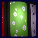 Panneau chaud de forces de défense principale de modèle de la fleur 2015 pour la porte de cuisine (ZH051)