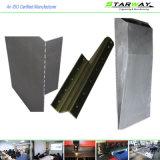 De aangepaste Vervaardiging van het Metaal van het Blad met Knipsel het Van uitstekende kwaliteit van de Laser