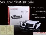 1080p HD cheio Short o projetor do lance (C7)