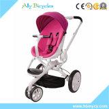 Neues Produkt 3 in 1 Arbeitsweg-Systems-umschaltbarer Sitzrotem Baby-Spaziergänger